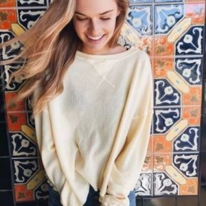 brandy melville yellow laila thermal john galt